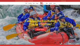 Canadian Rockies Rafting!